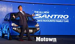 All-new Santro and an ageless Shah Rukh Khan at his best!