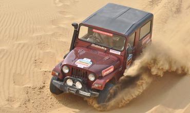 Annual Mahindra Great Escape 120th edition in Jaisalmer