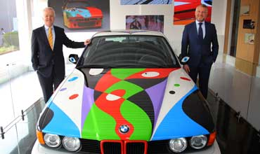 Art in Motion: BMW Group brings the 10th BMW Art Car to India