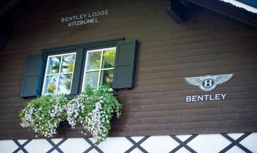 Bentley mountain lodge in Kitzbuhel, Austria