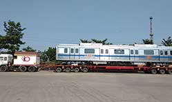 Bombardier delivers  800th Movia metro car to Delhi Metro