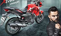 Cricketer Virat Kohli is new brand ambassador for Hero MotoCorp Ltd