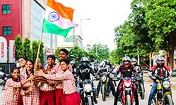 Ducati India celebrates 72nd Independence Day with Lotus Petal Foundation