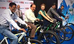 Electric pedal assisted cycle Lectro from Hero Cycles launched in India