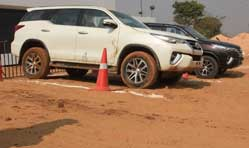 Fortuner Experiential Drive Camp brings alive Toyota competence
