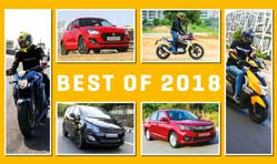 MOTOWN INDIA FAVOURITE VEHICLES OF 2018