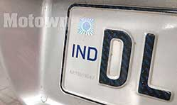 Mandatory High Security Registration Plates, coloured coded stickers for Delhi NCT vehicles
