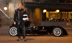 Mika Hakkinen, Johnnie Walker on an India road safety mission
