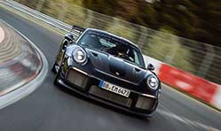 Porsche sets new lap record for fastest road-legal car with 911 GT2 RS