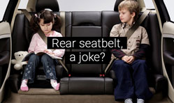 Rear seat seatbelts, what are those?
