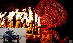 Sacred groves, theyyam and a tryst with MG Hector Plus