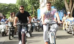 Salman Khan unveils Being Human E-Cycles for Rs 40,000 onward