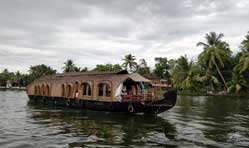 Steering through the backwaters of Kerala