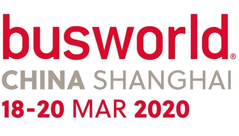 Busworld China to be relaunched on March 18, 2020