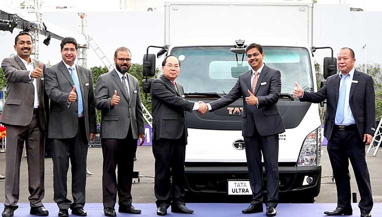 Tata Motors launches Ultra 814 Business Utility Vehicle in Vietnam