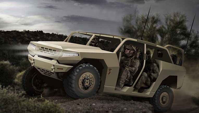 Kia Motors new standard platform for next gen military vehicles