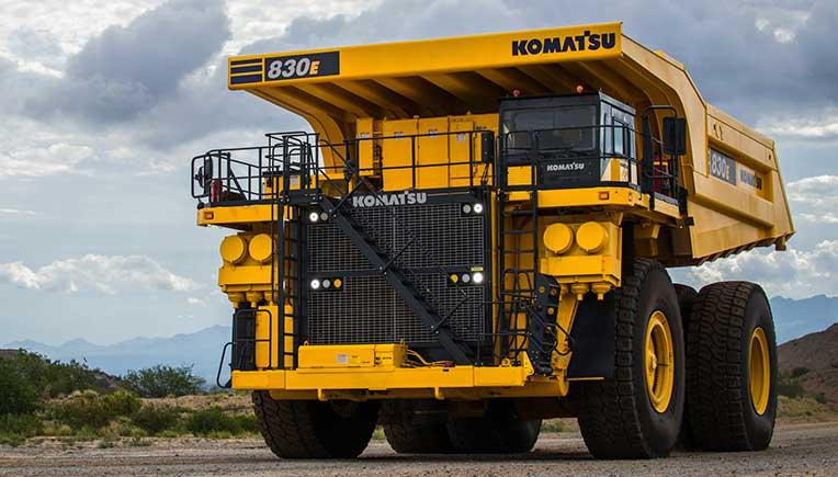 Komatsu new technologically advanced 230 tonne 830E-5 dump truck