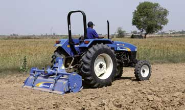 500 New Holland Agriculture tractors from India delivered to Myanmar