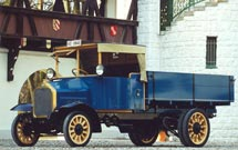 90 years back, MAN drove the first diesel DI truck