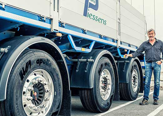 Apollo Tyres Hungarian facility begins commercial production of truck tyres