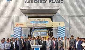 Ashok Leyland announces opening of new assembly plant in Dhaka