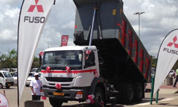 Chennai made Fuso trucks launched in Tanzania