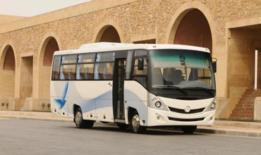 Daimler Buses delivers first bus chassis from India to Egypt