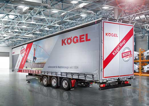 IAA COMMERCIAL VEHICLES 2018: Kogel unveils next-generation mega-trailer