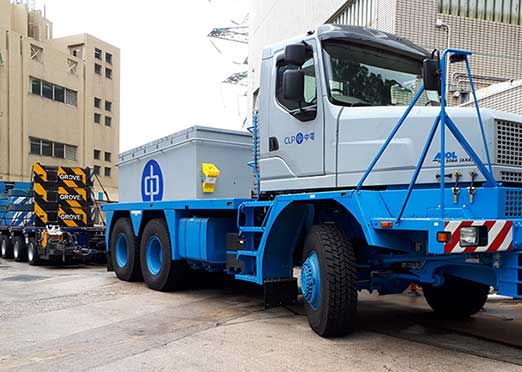 IAA COMMERCIAL VEHICLES 2018: Mol Cy delivers extra heavy haulage truck to Hong Kong