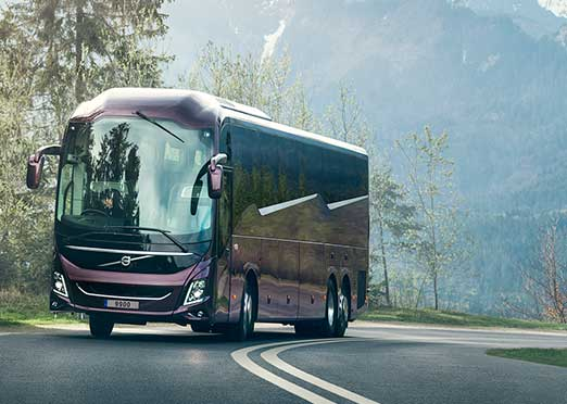 IAA COMMERCIAL VEHICLES 2018: Volvo's all-new platform for long-distance coaches