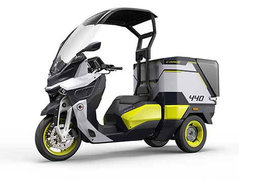 IAA Commercial Vehicles 2018: Gaius Auto unveils new line of e-commercial maxi-scooters