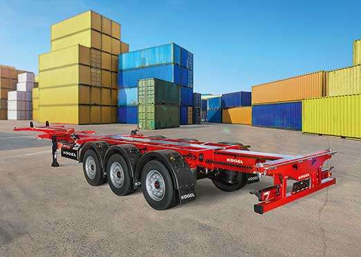 IAA Commercial Vehicles 2018: New Kogel lightweight container chassis