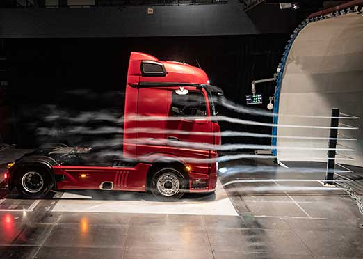New Actros truck from Daimler is aerodynamically superior