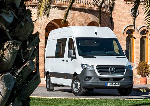New Mercedes-Benz Sprinter at CMT 2019