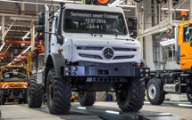 New extreme all-terrain Mercedes-Benz Unimog