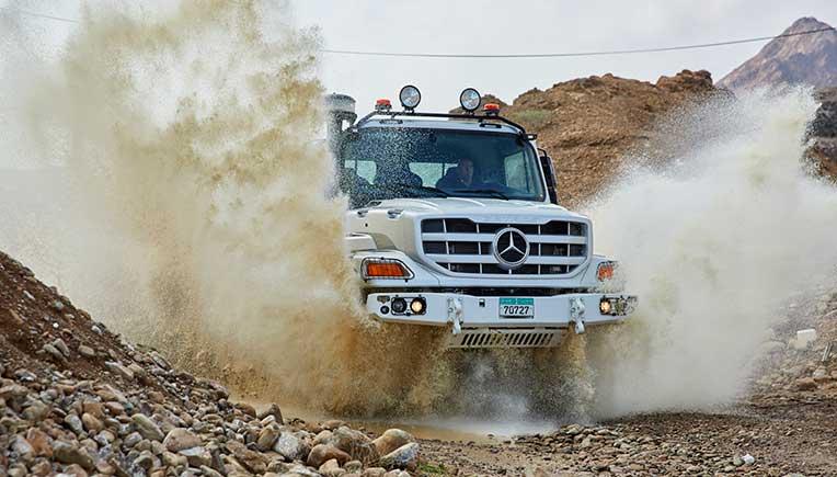 World premiere of new Mercedes-Benz Zetros truck