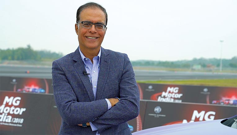 Interview with Rajeev Chaba, President & MD,  MG Motor India