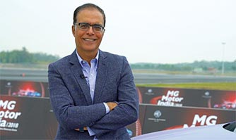 Interview with Rajeev Chaba, President & MD,  MG Motor India,