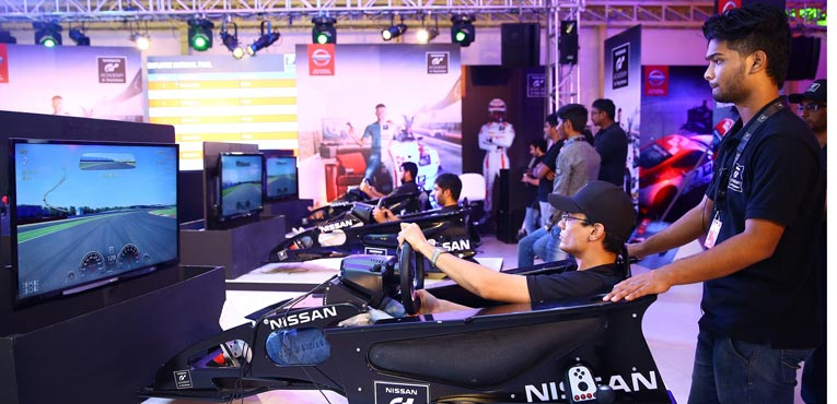 Nissan GT Academy 2015 winners in Chennai now move to Silverstone
