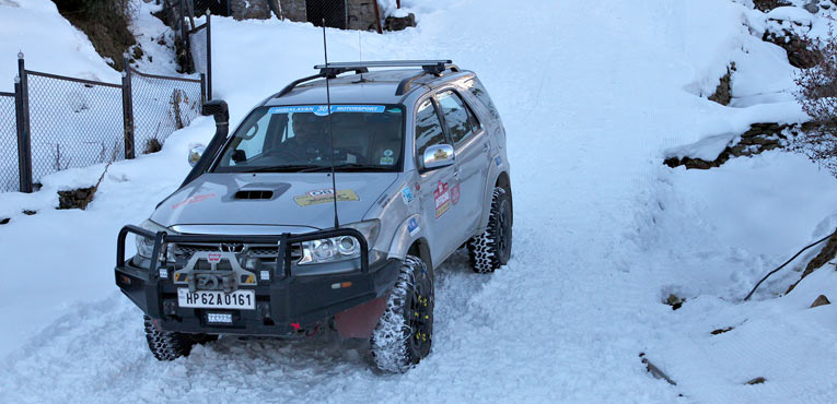 Uttarakhand Adventure Car Rally from Feb 1 to 4, 2015