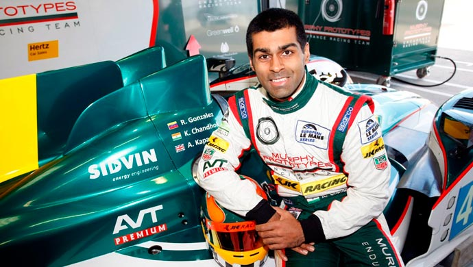 Karun chandhok returns to le mans hours motown india