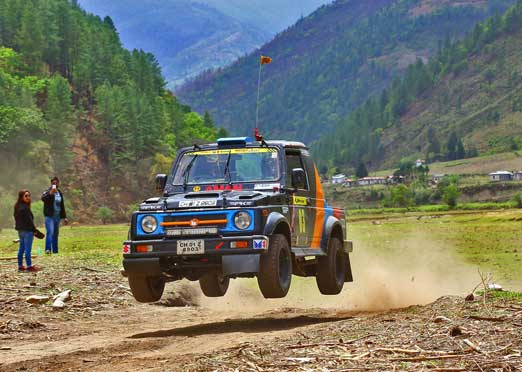 Amanpreet conquers the hills in JK Tyre Festival of Speed