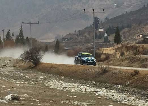 Asgar Ali holds on to his lead after second leg of JK Himalayan Drive