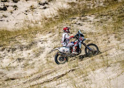 Hero MotoSports' Oriol Mena finishes 4th in Dakar Rally 2018