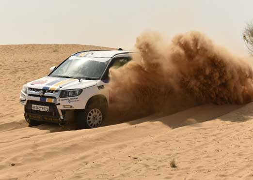 Maruti Suzuki Desert Storm closes Leg 3 in an exciting turn of events