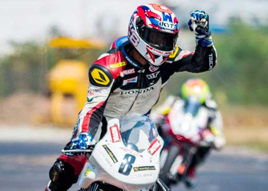 Rajiv Sethu clinches Pro Stock championship in motorcycle racing