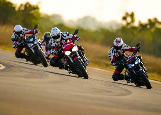 Triumph Motorcycles continues to partner with California Superbike School