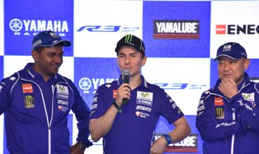 World MotoGP Champion Jorge Lorenzo all praise for Yamaha YZF-R3