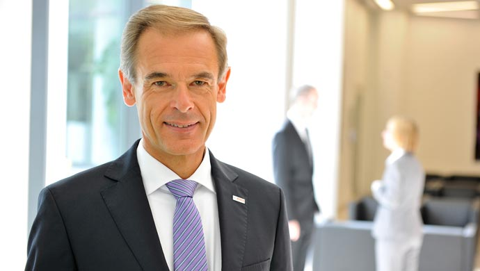 Dr. Volkmar Denner, chairman of the Bosch board of management