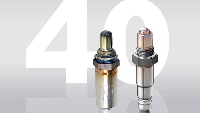 Bosch lambda sensors turn 40